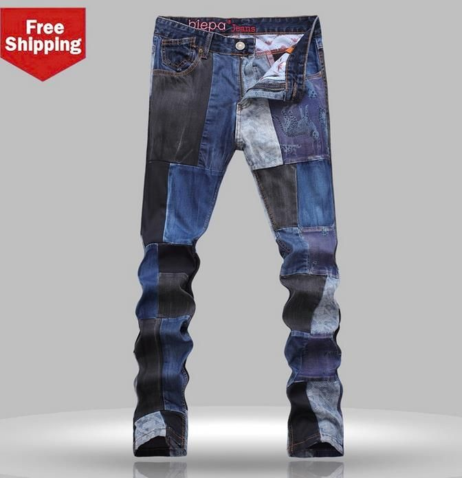 Like and Share if you want this  Winter fashion blue splice patch england jeans men pant man denim trousers straight street personalized famous brand     Tag a friend who would love this!     FREE Shipping Worldwide     Get it here ---> http://onlineshopping.fashiongarments.biz/products/winter-fashion-blue-splice-patch-england-jeans-men-pant-man-denim-trousers-straight-street-personalized-famous-brand/