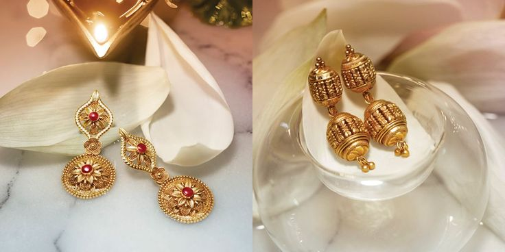 Tanishq Divyam Jewellery - Earrings(5)