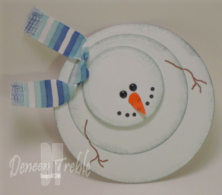 Snowman Crafts | made 20 snowman cards. At a dollar, I think they'll go pretty fast ...