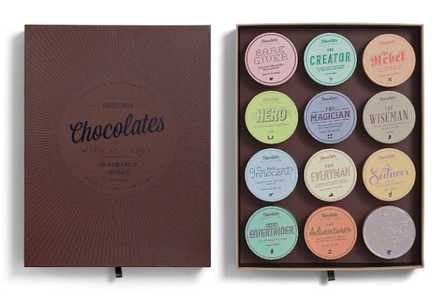 Chocolates With Attitude 2012 on Packaging of the World - Creative Package Design Gallery