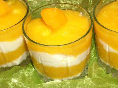 Smak Zdrowia: Deser brzoskwiniowy z kaszą manną