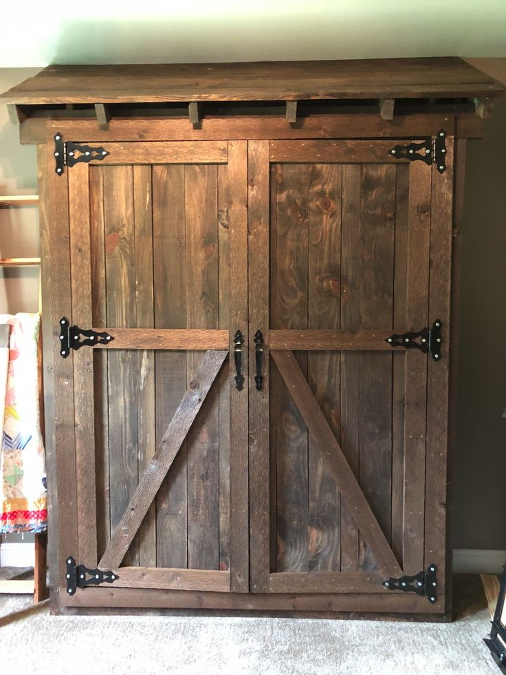 Murphy Door Bed Frame in 2020 Door bed, Door bed frame