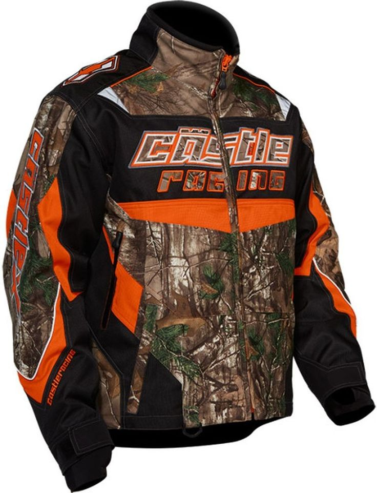 Castle bolt realtree g2 boys snowmobile jacket mens