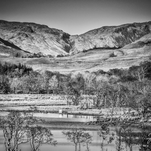 Captured march 2016 jedmondphotography scottish scottishhighlands highlands scotland black white blackandwhitephotography mountains loch skies