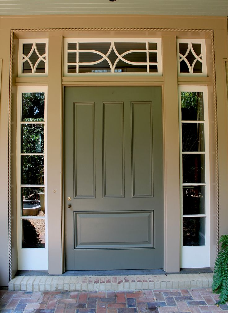 His project a large house in Montgomery Alabama basically bankrolled our backbone. This charter commission gave us the courage (and funds) to hang out a ... & 60 best entrance doors images on Pinterest | Entrance doors Front ...