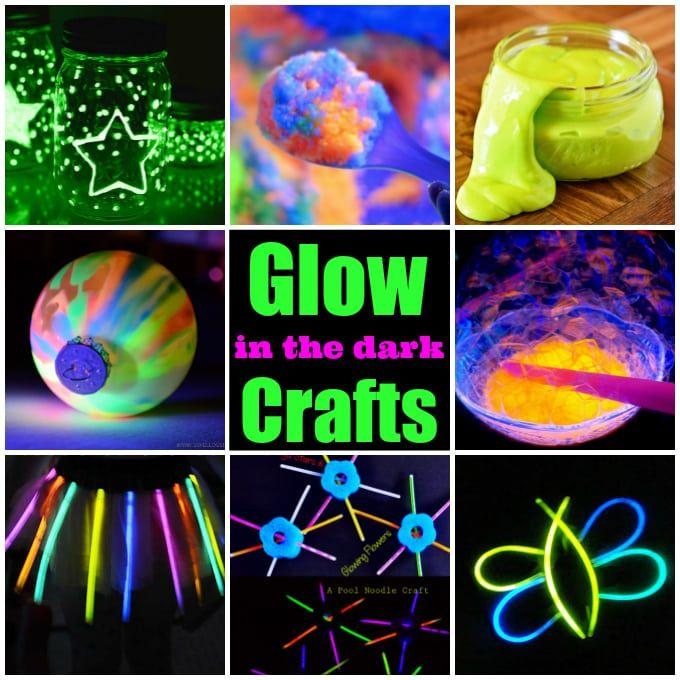 25 Creative Glow In The Dark Ideas Glow Crafts Diy Glow Glow Stick Party