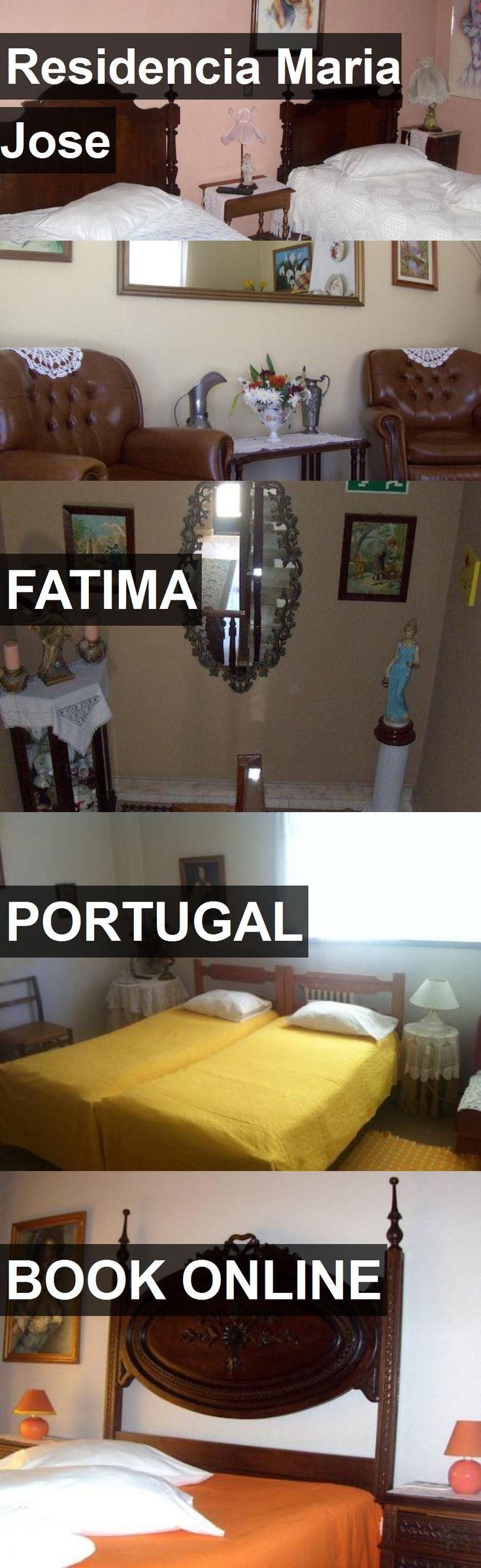 Hotel Residencia Maria Jose in Fatima, Portugal. For more information, photos, reviews and best prices please follow the link. #Portugal #Fatima #travel #vacation #hotel
