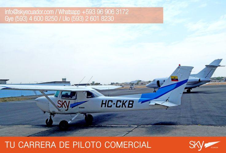 Nuestra plataforma Sky Ecuador en #Guayaquil   Fórmate como Piloto Comercial en #Ecuador !  Siguiente curso: #Quito - FEBRERO / MATRICULAS ABIERTAS  #Guayaquil - FEBRERO / MATRICULAS ABIERTAS #Salinas - FEBRERO /MATRICULAS ABIERTAS    Para mayor información escríbenos a: info@skyecuador.com o  WhatsApp 096 906 3172  Teléfonos:  02 601-8230 #Quito  04 600 8250 #Guayaquil http://goo.gl/H7U4mN