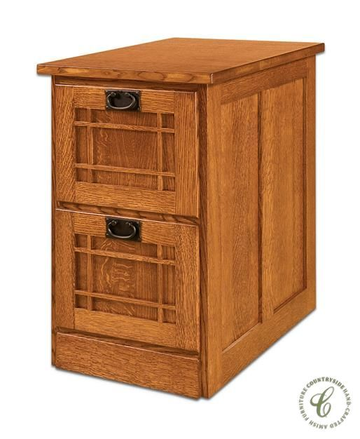 Available in two, three, or four drawers, our Joshua's Craftsman File Cabinet is an attractive upgrade to any filing system will its solid wood construction.
