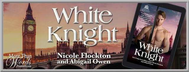 Release Blitz - White Knight (The Camelot Rising #1) by Nicole Flockton & Abigail Owen   Title: White Knight Series: The Camelot Rising #1 Authors: Nicole Flockton and Abigail Owen Genre: Adult Paranormal Romance Published: January 29 2018 Page Count: 200 Pages  Modern-day King Arthur meets Snow White for a surprising happily ever after in this magical mash-up of legends and fairy tales.  The victim of an ancient curse Sasha White has wandered the world alone for centuries. The only way out…