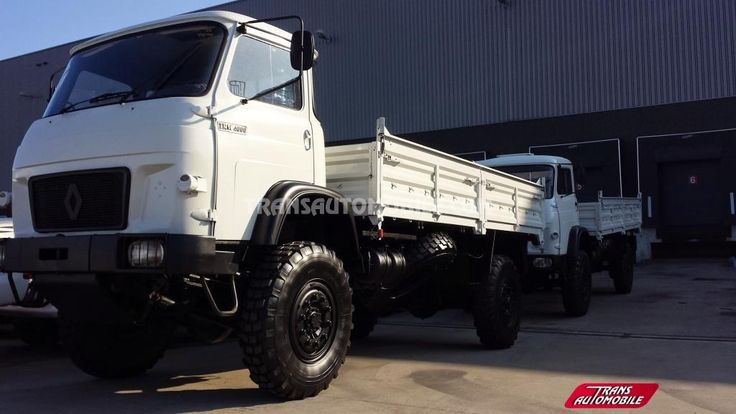 Trucks Flatbed Renault TRM 4000 EX ARMY 4X4 https://www.transautomobile.com/en/export-renault-trm-4000/1459?PI