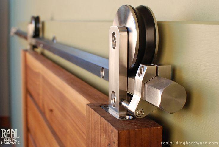 Hex Bar Modern Sliding Hardware Kit Hardware Bar And Barn Doors