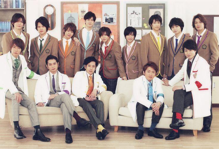 Arashi and Hey! Say! Jump   Waku Waku Gakkou