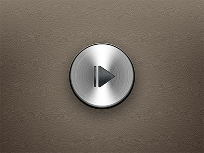 Metal Button - #ui