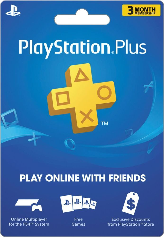 Sony Playstation Plus 3 Month Membership Sony Playstation Plus 3 Month Best Buy Ps4 Gift Card Google Play Gift Card Play Game Online