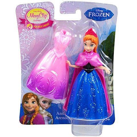 Disney Jégvarázs Anna MagiClip mini-hercegnő. http://www.szivarvanymesekucko.hu/termek/1643-disney-jegvarazs-anna-magiclip-minihercegno