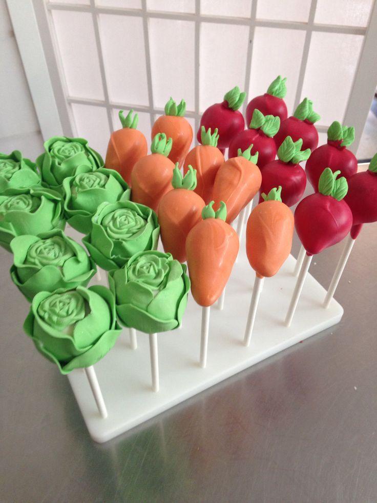 veggie cake pops - Google Search