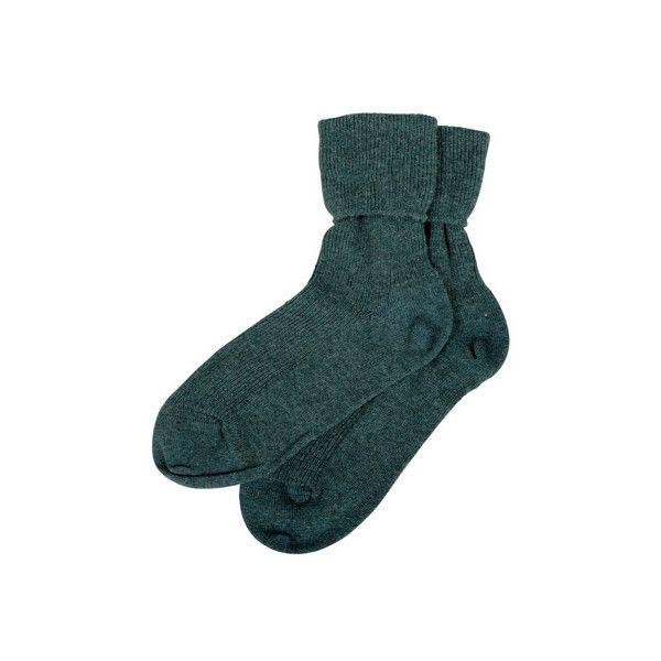 Cashmere Socks - Women's Cashmere Socks   Brora ($35) ❤ liked on Polyvore featuring intimates, hosiery, socks, accessories, socks/tights, underwear, brora, cashmere socks and cashmere wool socks