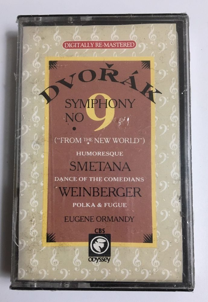 Dvorak: Symphony No 9 Smetana Weinberger Ormandy 1986 Cassette Tape New Sealed  | eBay