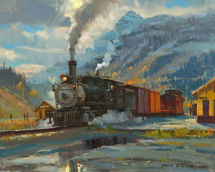 David Tutwiler American Railroad Art