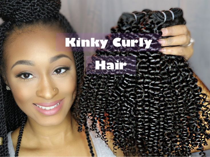 Kinky Curly Hair for 4a & 4b Hair Types! | iHeartKinksExtensions | First...