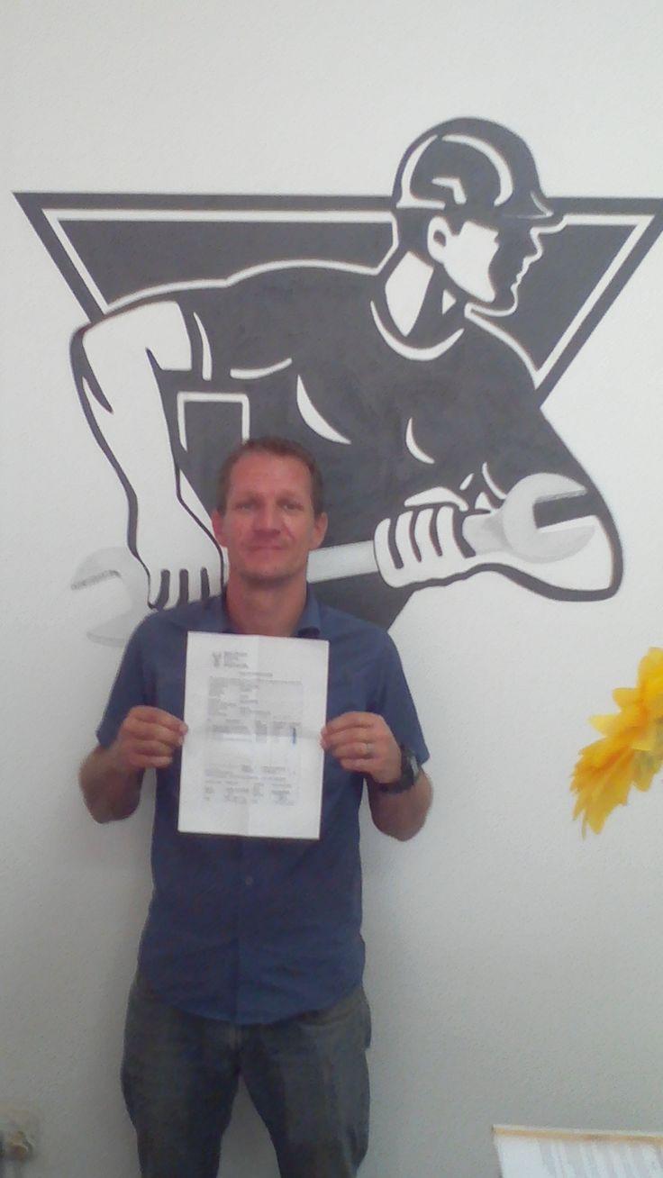 De Wet van Zyn joined the team of Red Seal Plumbers recently!!
