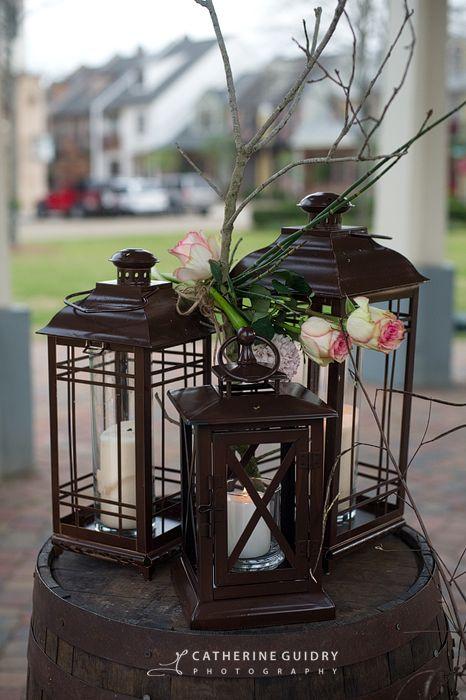 Best rustic lanterns i love images on pinterest