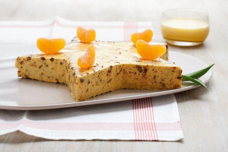 Bavarese di mandarino, panpepato e zabaione ricetta