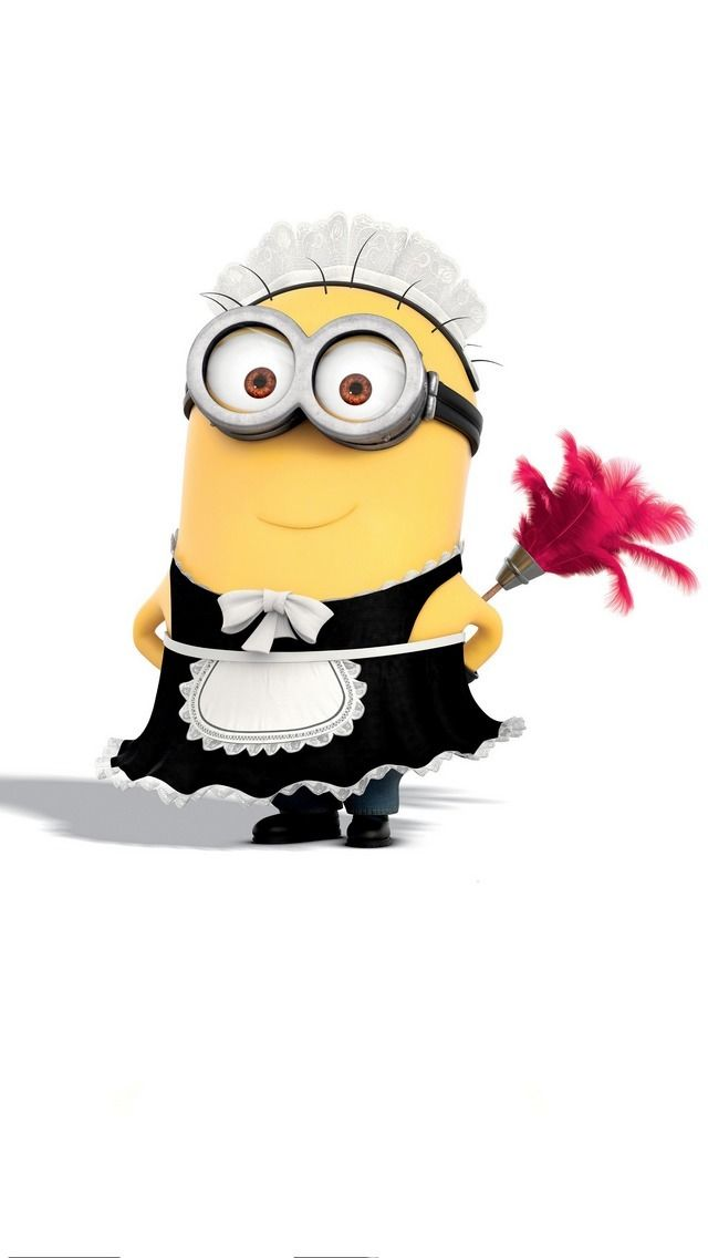 Cute Minion from Despicable Me 2 iPhone 5 wallpapers 640x1136 (08)
