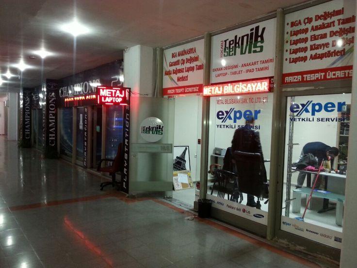 Metaj Bilgisayar Laptop notebook tamir merkezi şu şehirde: İzmit, Kocaeli İli