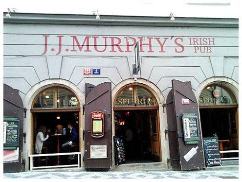 Nancy Lopez-McHugh reveals one of her favorite eateries in Prague. J.J. Muprhy's Irish Pub.