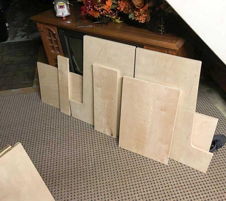 Chris's DIY midcentury modern TV cabinet inspired by Paul McCobb - Retro Renovation