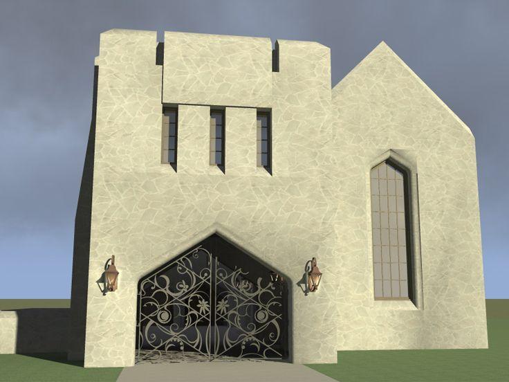 40 best unique house plans images on pinterest unique for Scottish castle house plans