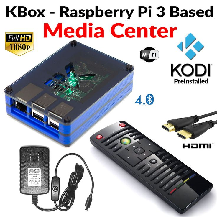 Access thousands of movies and TV shows at the click of a remote. Raspberry Pi 3 Based Extreme Media Center provides a total home entertainment hub and media player, allowing you to view free digital