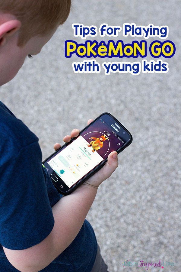 Tips for playing Pokemon Go with young kids. All the best tips to make your Pokémon Go adventure the best it can be!