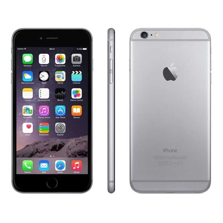 Apple iPhone 6 Plus 16GB Unlocked GSM 4G LTE Certified Refurbished Cell Phone #IPH 6 PLS 16 CRB