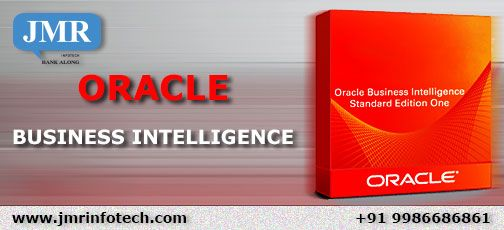 Oracle business intelligence  JMRI provides solutions based on Oracle Business Intelligence to banks.Oracle Business Intelligence is a complete, open, and architecturally unified business intelligence system for the enterprise that delivers abilities for reporting, ad hoc query and analysis, online analytical processing (OLAP), dashboards, and scorecards.
