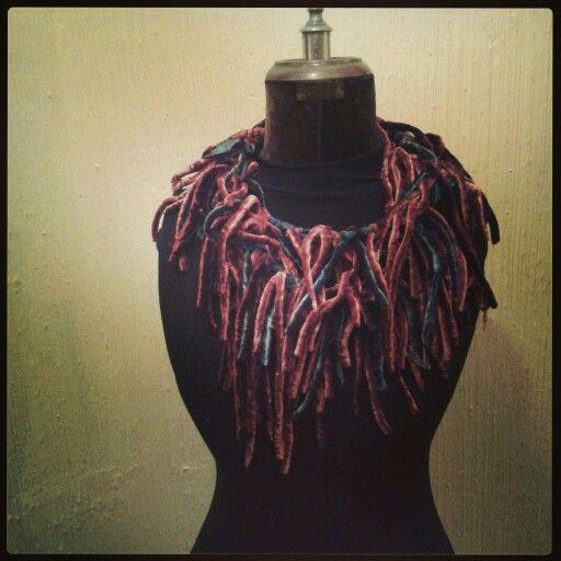 Collar en Tela:: Made to Hand