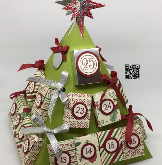 """54"" Sleeps Till Christmas – Stampin' Up! Advent Calendar Part 1 CLEVERPACKS BY Keila Calver"