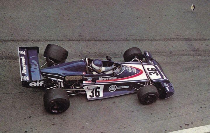 Patrick Tambay - Chevron B40 Hart - Chevron Cars - may be Rouen 1977 ?
