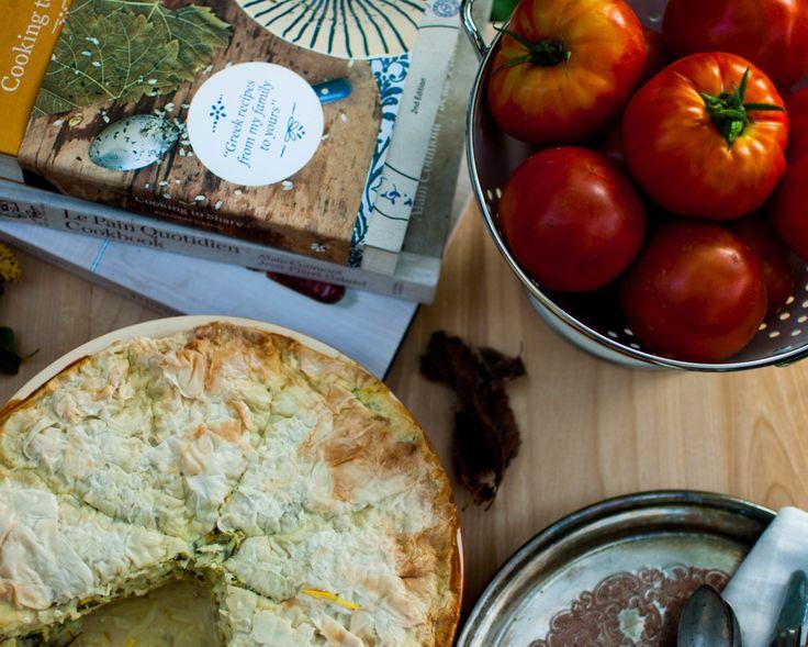 Une touche de miel | Tarte à la courgette | http://www.unetouchedemiel.com