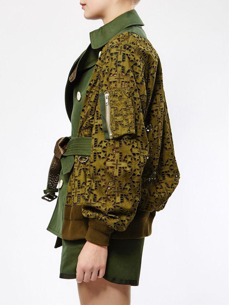 Sacai - Military Bomber Jacket