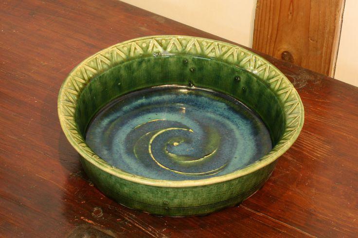 織部押文鉢 Bowl,Oribe type 2014