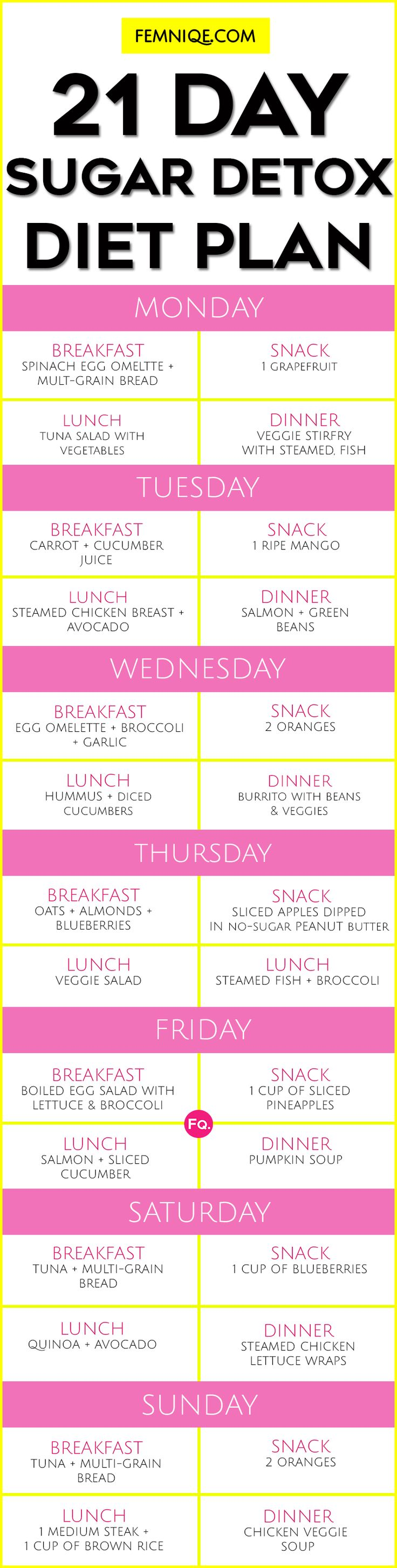 1100 calorie diet with 7 day meal plan