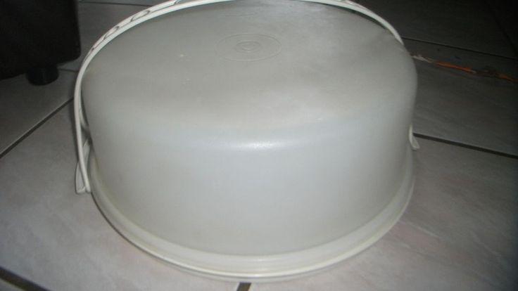 Tupperware Tortenbehälter mit Tragegriff ; vintage