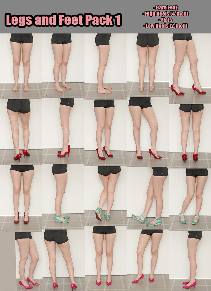 Legs and Feet pack 1 by =Kxhara on deviantART