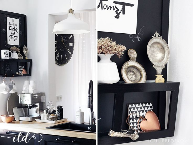 die besten 17 bilder zu kitchen auf pinterest deko blog und cappuccinos. Black Bedroom Furniture Sets. Home Design Ideas