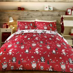 Advent Calendar Christmas Colouring In Duvet Cover Set with Washable Pens