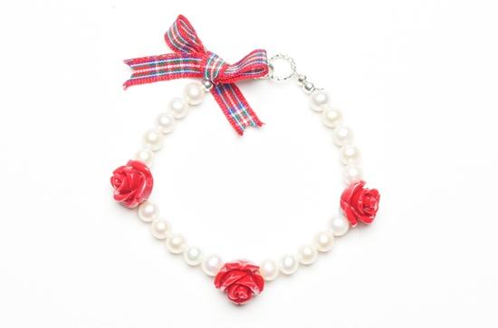 Rosy Posy bracelet / Royal Stewart