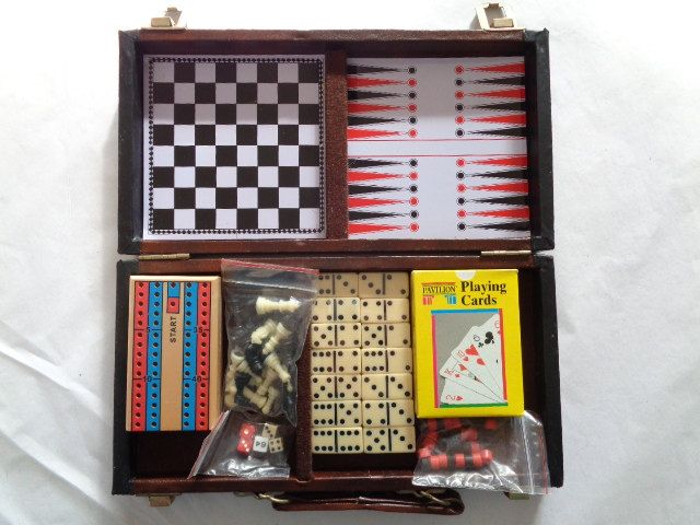 Gambling Playing Poker Cards #Checkers Chess #Backgammon #Dominoes Cribbage Dice ,  View more on the LINK: http://www.zeppy.io/product/gb/3/263859206/